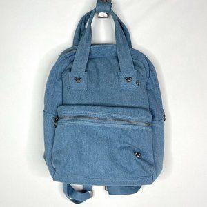 NWT Disney Mickey Icon Flair Denim Backpack